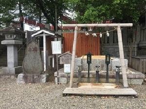 玉前神社お水取り