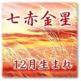 七赤金星 12月生まれ