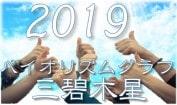 2019三碧木星バイオリズムグラフ