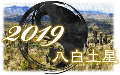 八白土星 2019 運勢 中宮回座