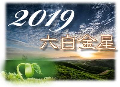 六白金星 2019 運勢