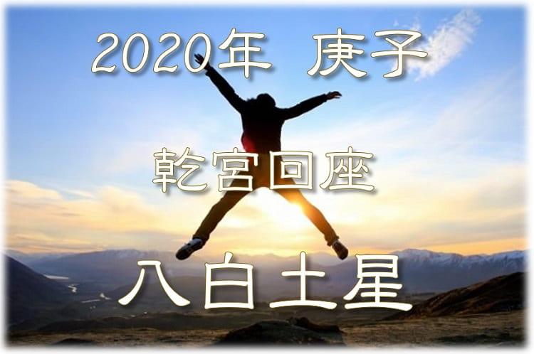 土星 2020 運勢 八白